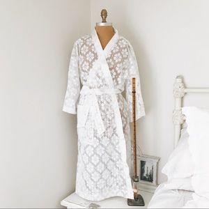 Vintage Christian Dior lace lingerie robe